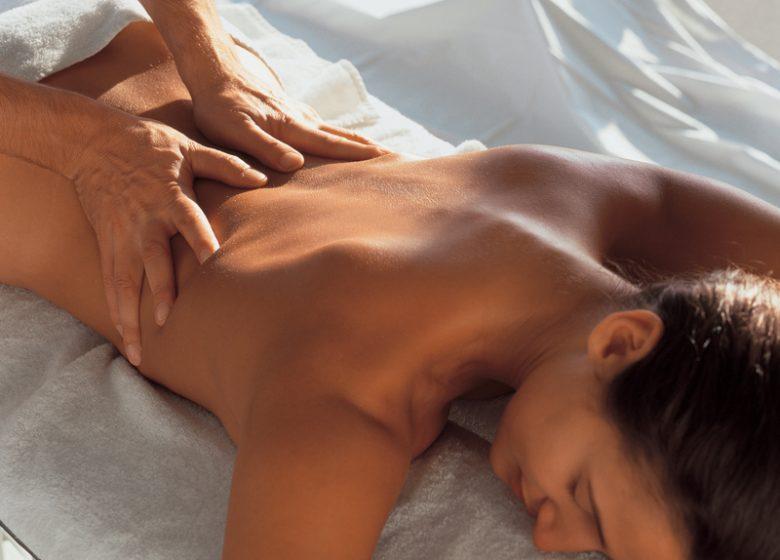 Thalasso Thalazur de Ouistreham, massage
